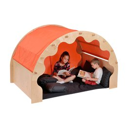 Play Pod & Canopy, 2 Sets of Curtains, 6 Scatter Cushions & Large Mat