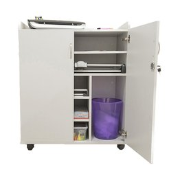 Lockable Workstation Trolley