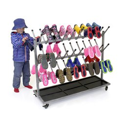 Wellington Boot Storage Rack 30 Pairs