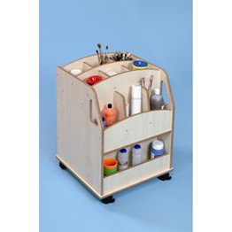 Accessory Cart Maple