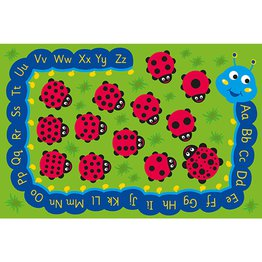 Back To Nature Chloe Caterpillar Numeracy & Literacy Outdoor Mat