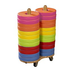 Donut Multi-Seat Trolley With 24 Cushions