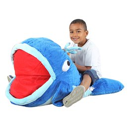 Moby Whale Giant Floor Cushion