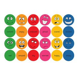 English Emotions Cushions Set of 12 With Tuf2 Storage Trolley