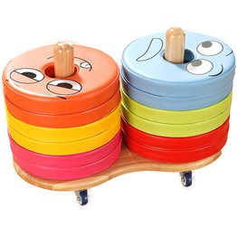 Emotions Donut Cushion Trolley With 12 Cushions English